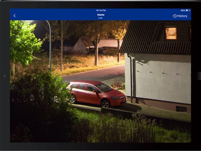Hình ảnh Full HD chất lượng cao, quan sát ban đêm rõ ràng